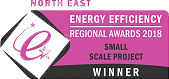 North East Regional Energy Efficiency Awards Winner 2018